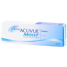 1-DAY ACUVUE MOIST 30pk contacts