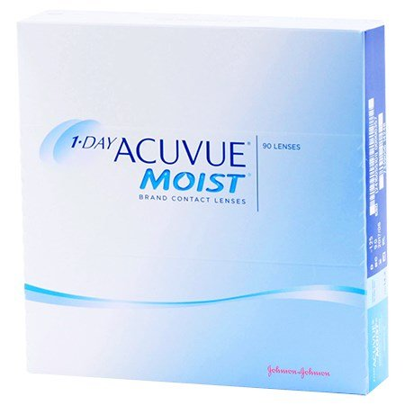 Acuvue 1-DAY ACUVUE MOIST 90 Pack contacts