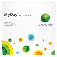 MyDay daily disposable 90 pack contacts