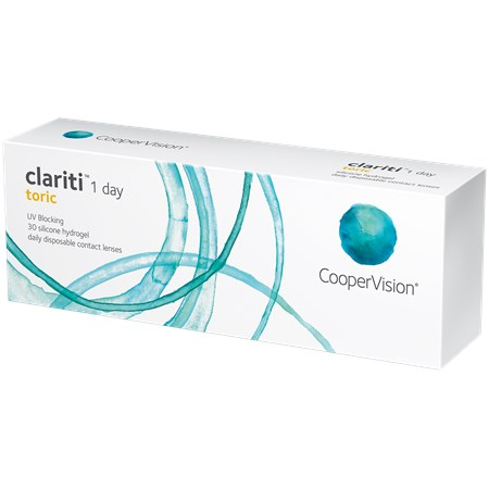 Clariti 1-day Toric 30-pack contacts