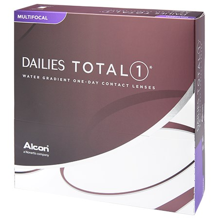 DAILIES TOTAL1 Multifocal 90 Pack contacts