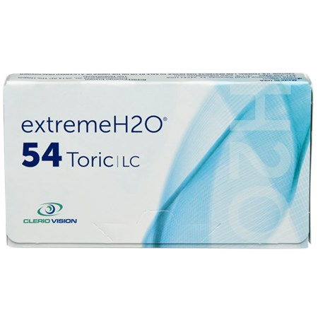 Extreme H2O 54 Toric 6pk contacts