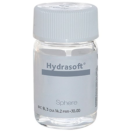 Hydrasoft Sphere Vial contacts