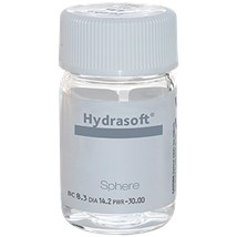 Hydrasoft sphere aphakic thin (vial) contacts