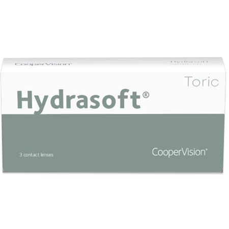 Hydrasoft Toric 3pk contacts