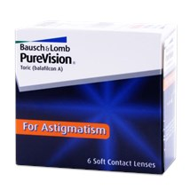 PureVision Toric For Astigmatism contacts