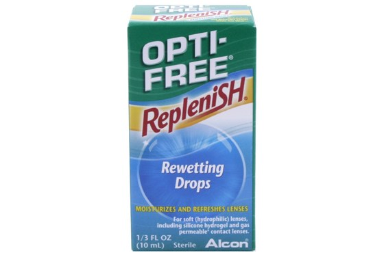 Opti-Free Replenish Rewetting Drops (.33 fl. oz.) DryRedEyeTreatments