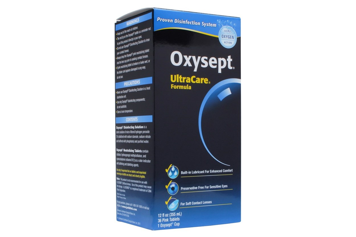 AMO Oxysept UltraCare Formula (12 fl. oz.) SolutionsCleaners