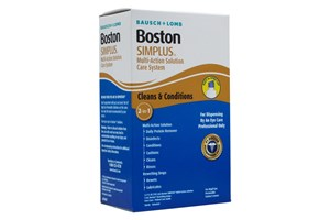 Click to swap image to Boston Simplus Care System Multi-Action Contact Lens Solution