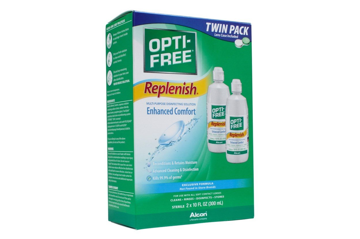 Opti-Free Replenish Twin Pack SolutionsCleaners
