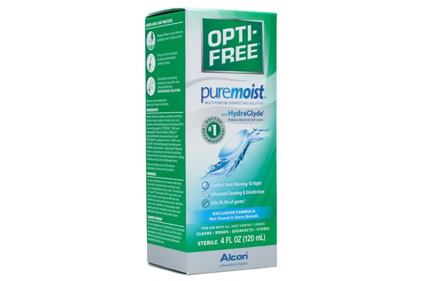 Opti-Free PureMoist Solution (4 fl. oz.) SolutionsCleaners