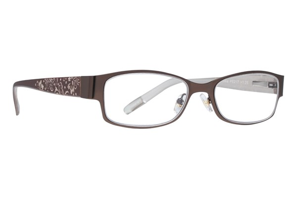 Private Eyes Thixie Reader ReadingGlasses - Brown