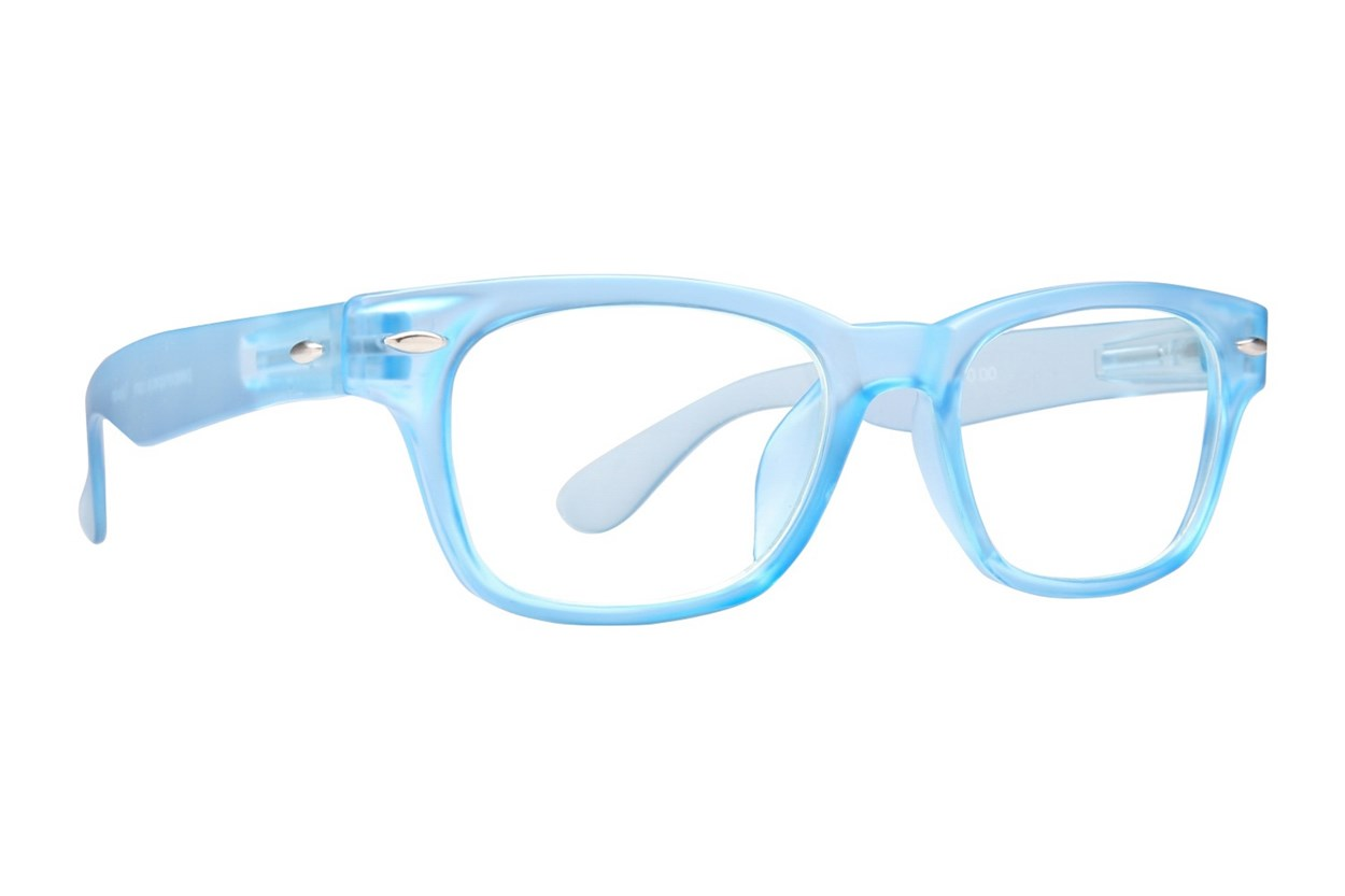 Peepers Rainbow Bright Reading Glasses  - Blue