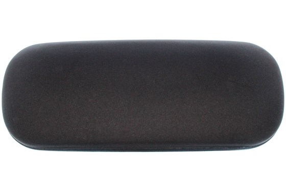 Amcon Protective Clam Eyeglasses Case Black GlassesCases - Black