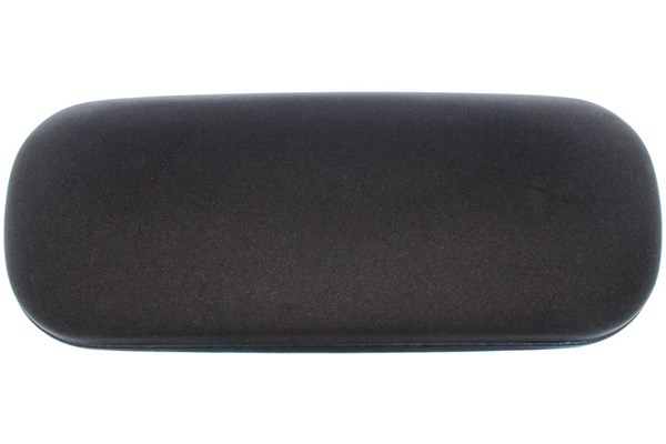 Amcon Protective Clam Eyeglasses Case Black 50 - Black