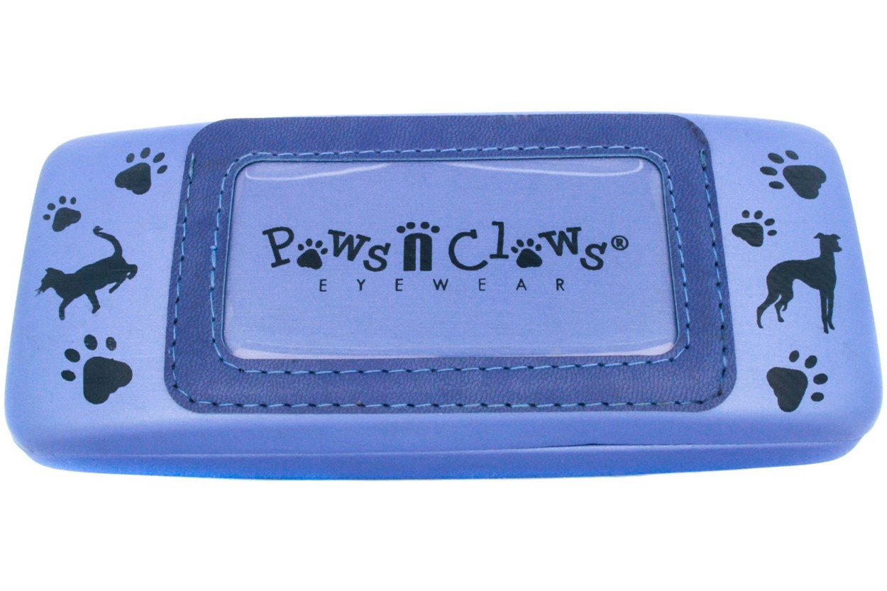 Paws n Claws Clamshell Case With Photo Pocket 50 - Blue