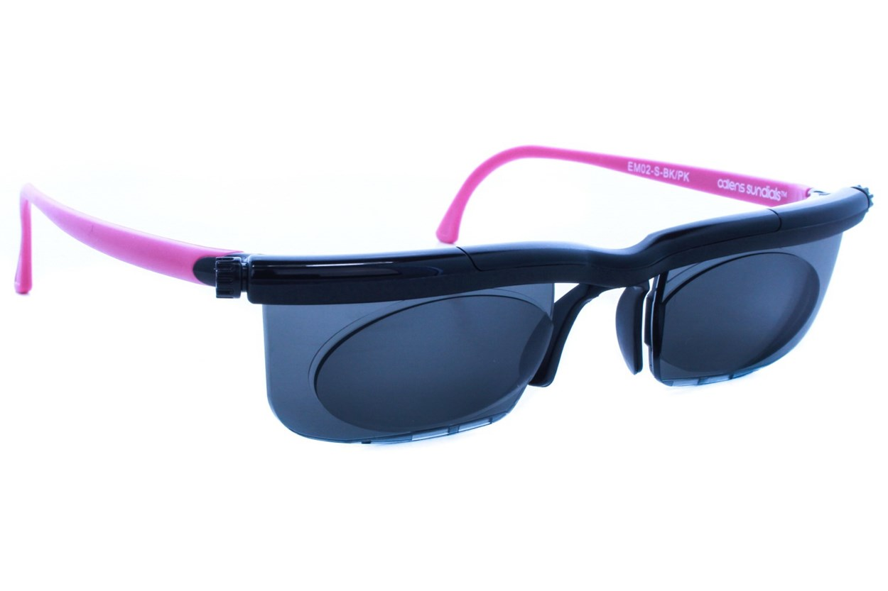 Adlens Sundials Adjustables Instant Prescription Sunglasses ReadingGlasses - Pink