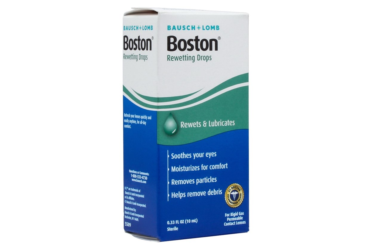 Boston Rewetting Drops (10 ml) SolutionsCleaners