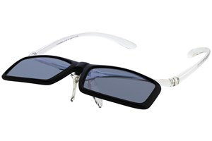 Click to swap image to alternate 2 - I Heart Eyewear Flip-Up Reading Sunglasses ReadingGlasses - Black