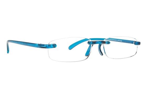 I Heart Eyewear Twisted Specs ReadingGlasses - Blue