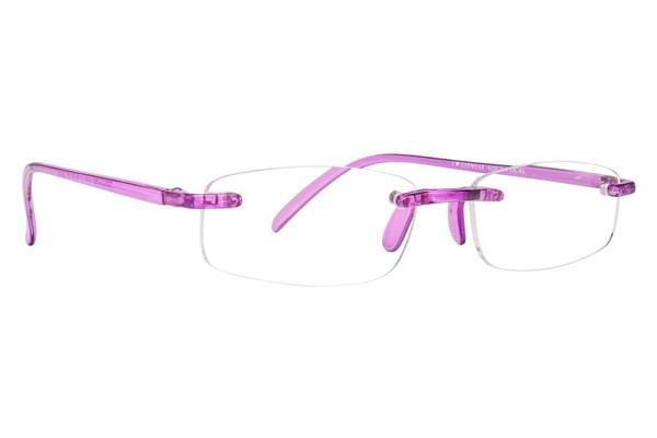 I Heart Eyewear Twisted Specs ReadingGlasses - Purple