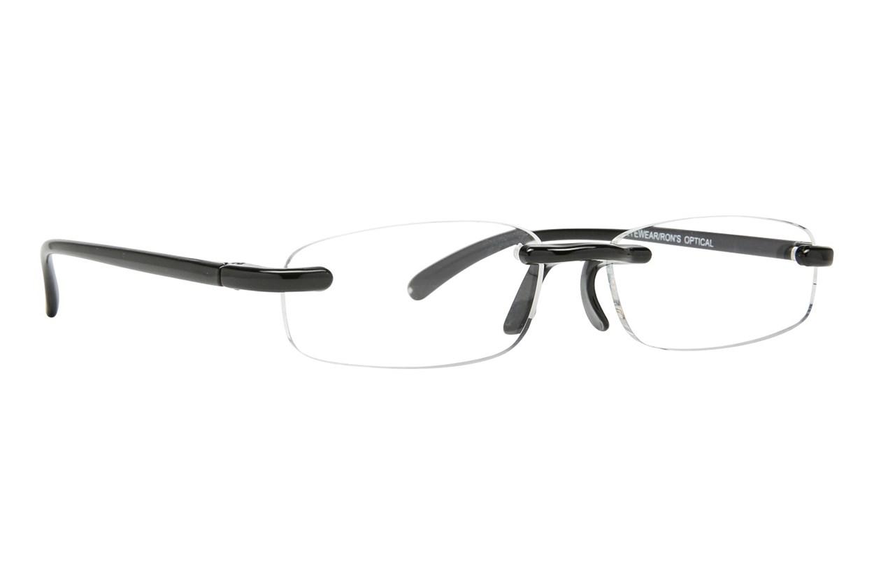 I Heart Eyewear Twisted Specs ReadingGlasses - Black