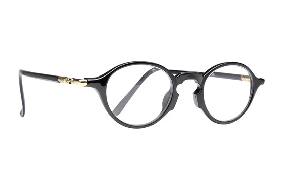 Peepers See You A-Round Reading Glasses ReadingGlasses - Black