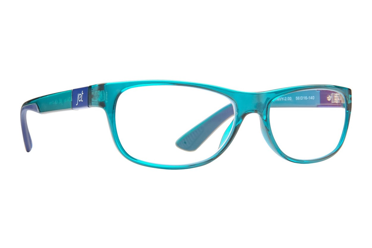 Jet Readers LGA Reading Glasses ReadingGlasses - Blue