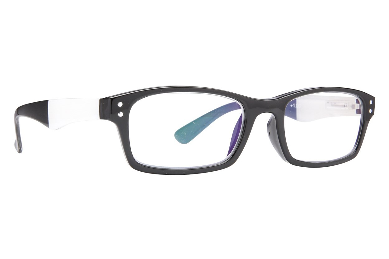 Peepers Pier Pressure ReadingGlasses - Black