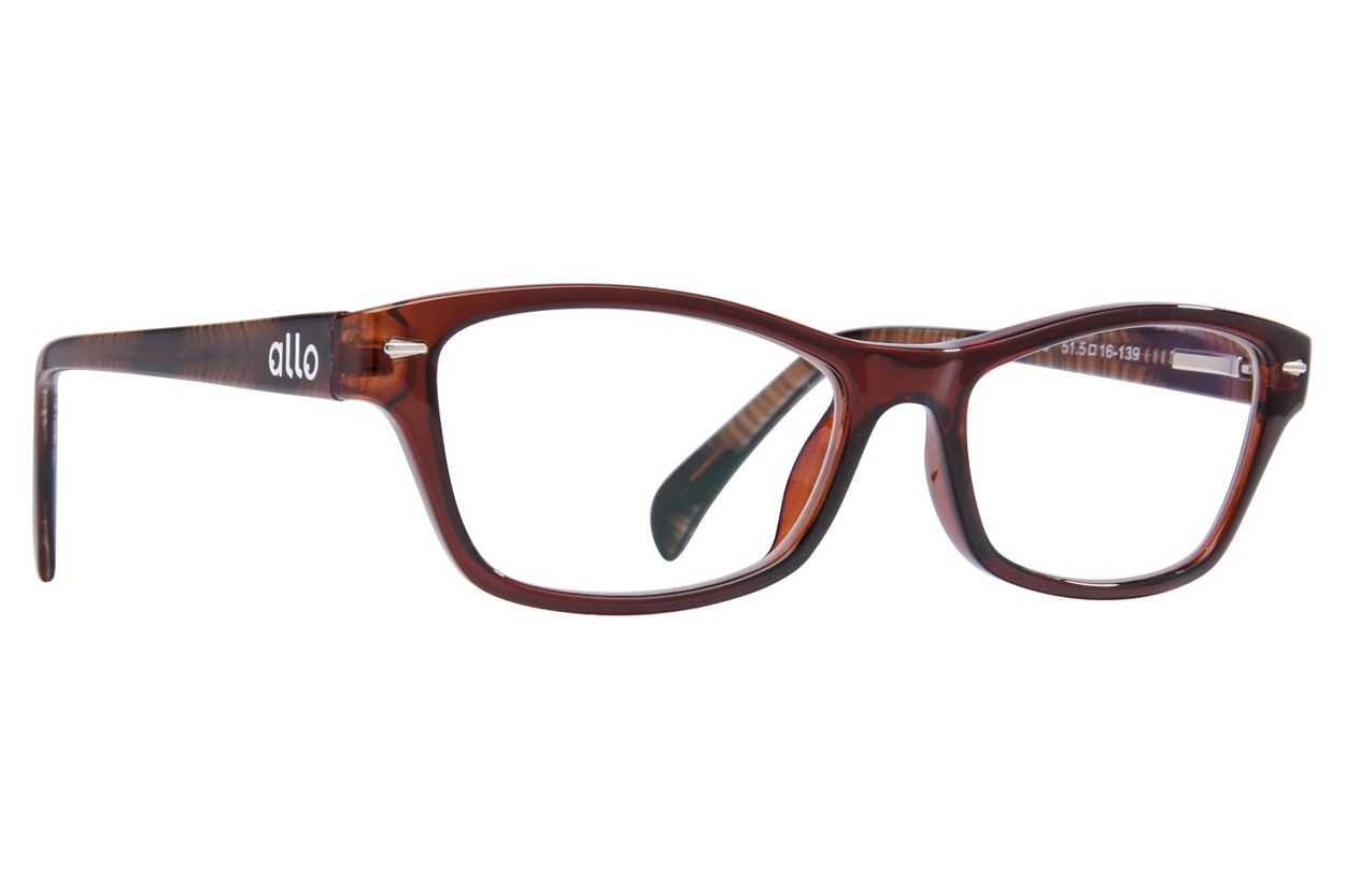 allo Hola Reading Glasses  - Brown