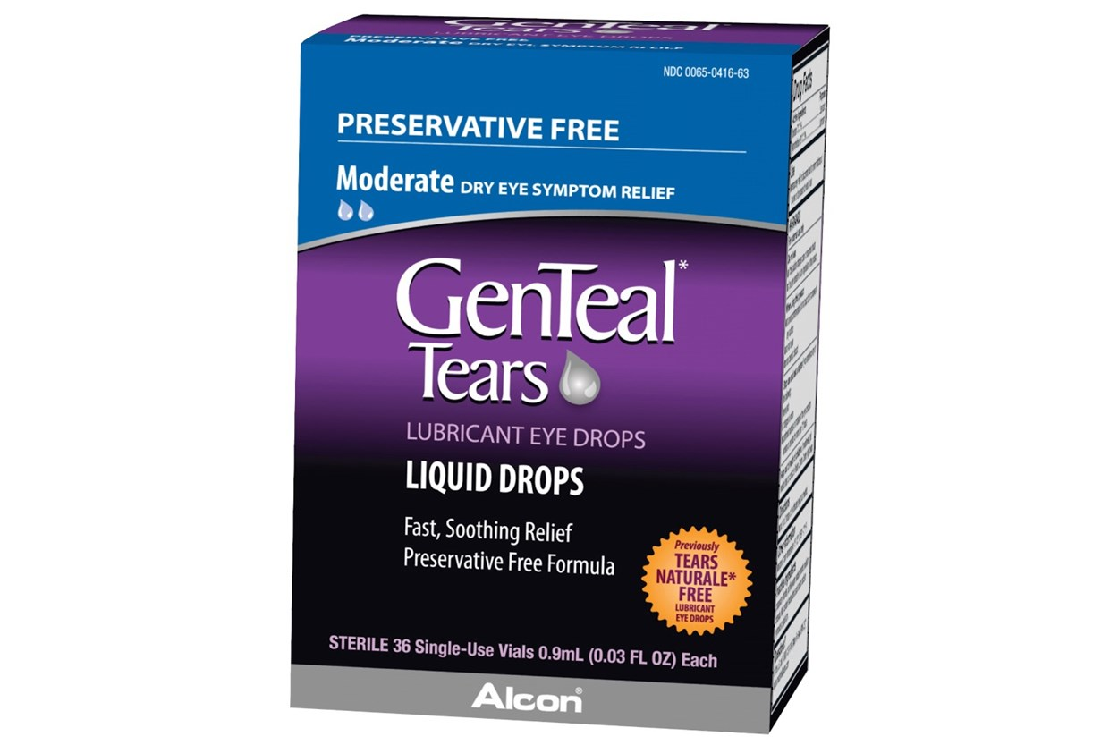 GenTeal Tears Preservative Free (36 ct.) DryRedEyeTreatments