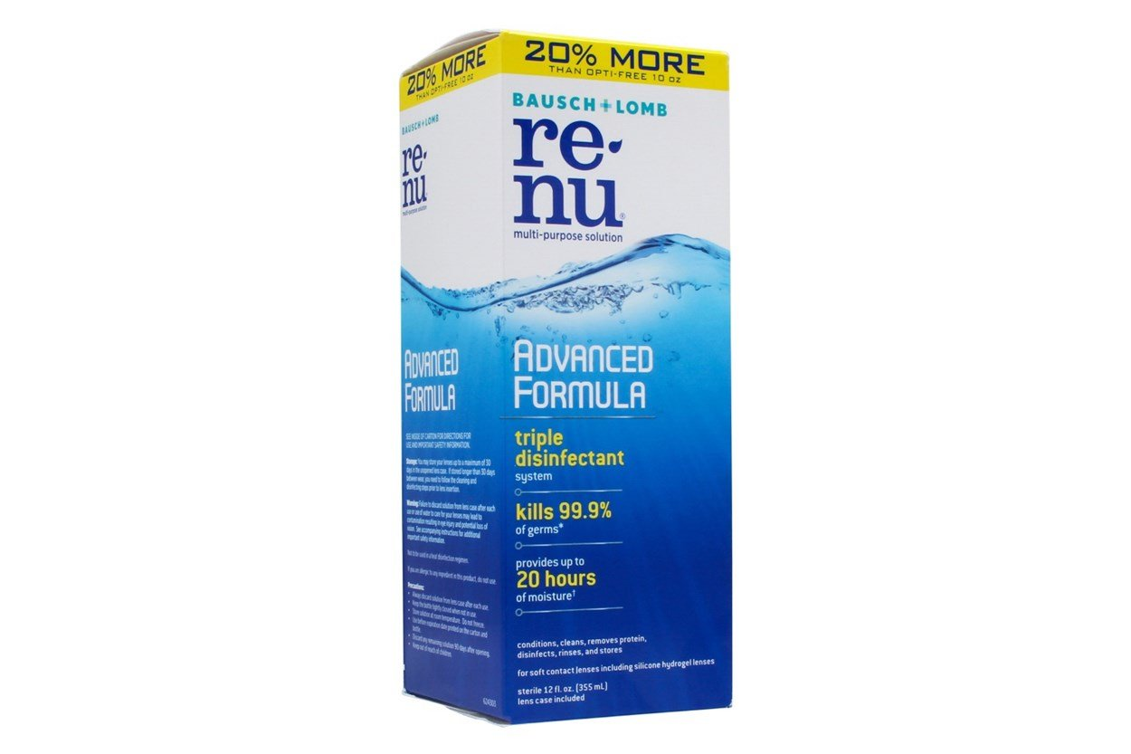 ReNu Advanced Formula Multi-Purpose Solution (12 fl oz) SolutionsCleaners