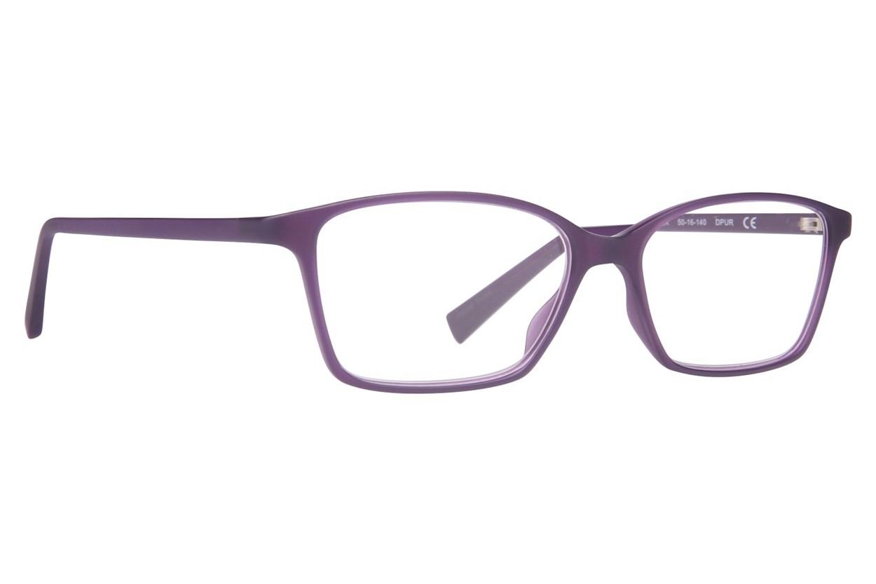 Conscious Eyez Harper Reading Glasses  - Purple