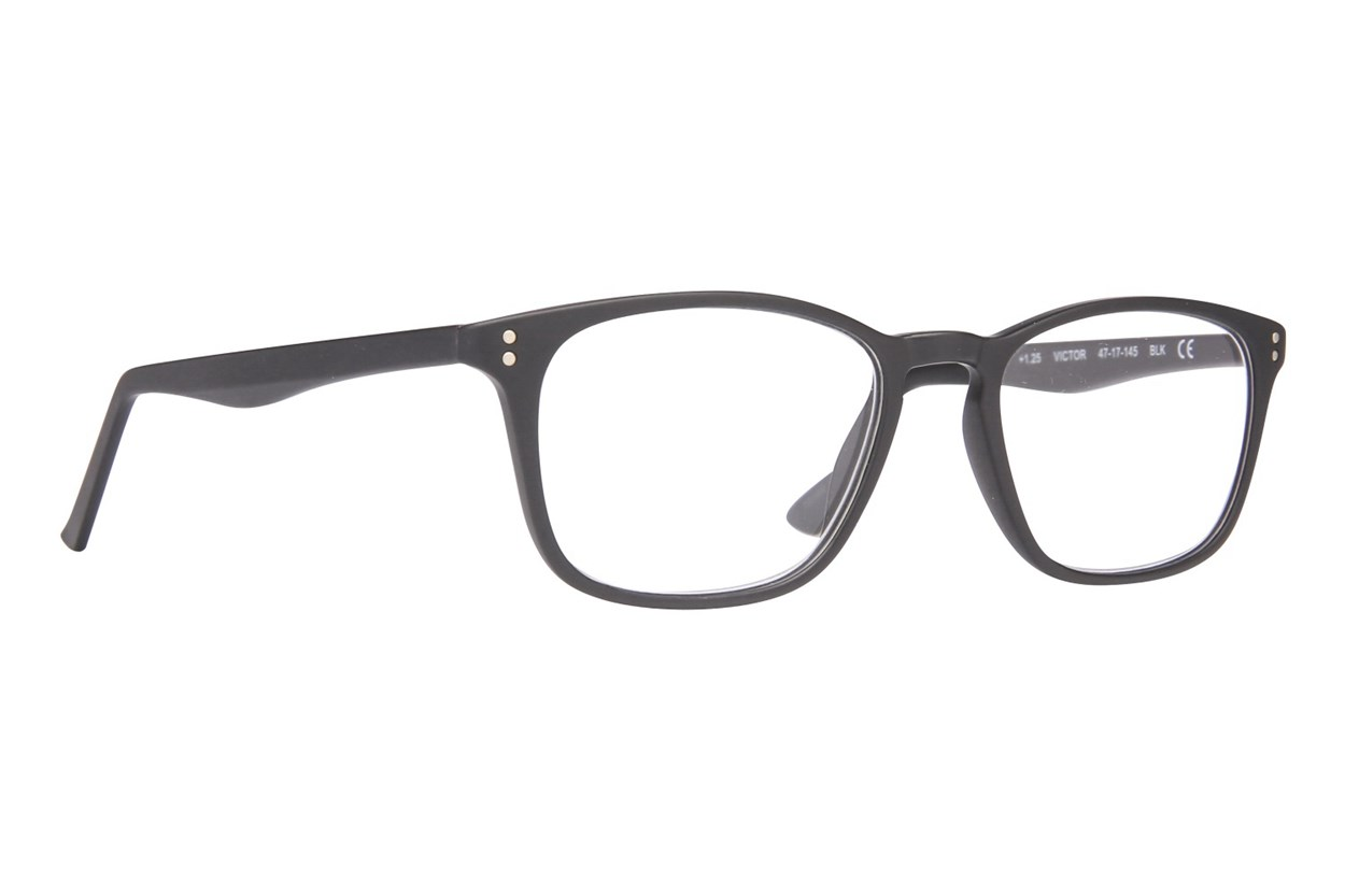 Conscious Eyez Victor Reading Glasses ReadingGlasses - Black