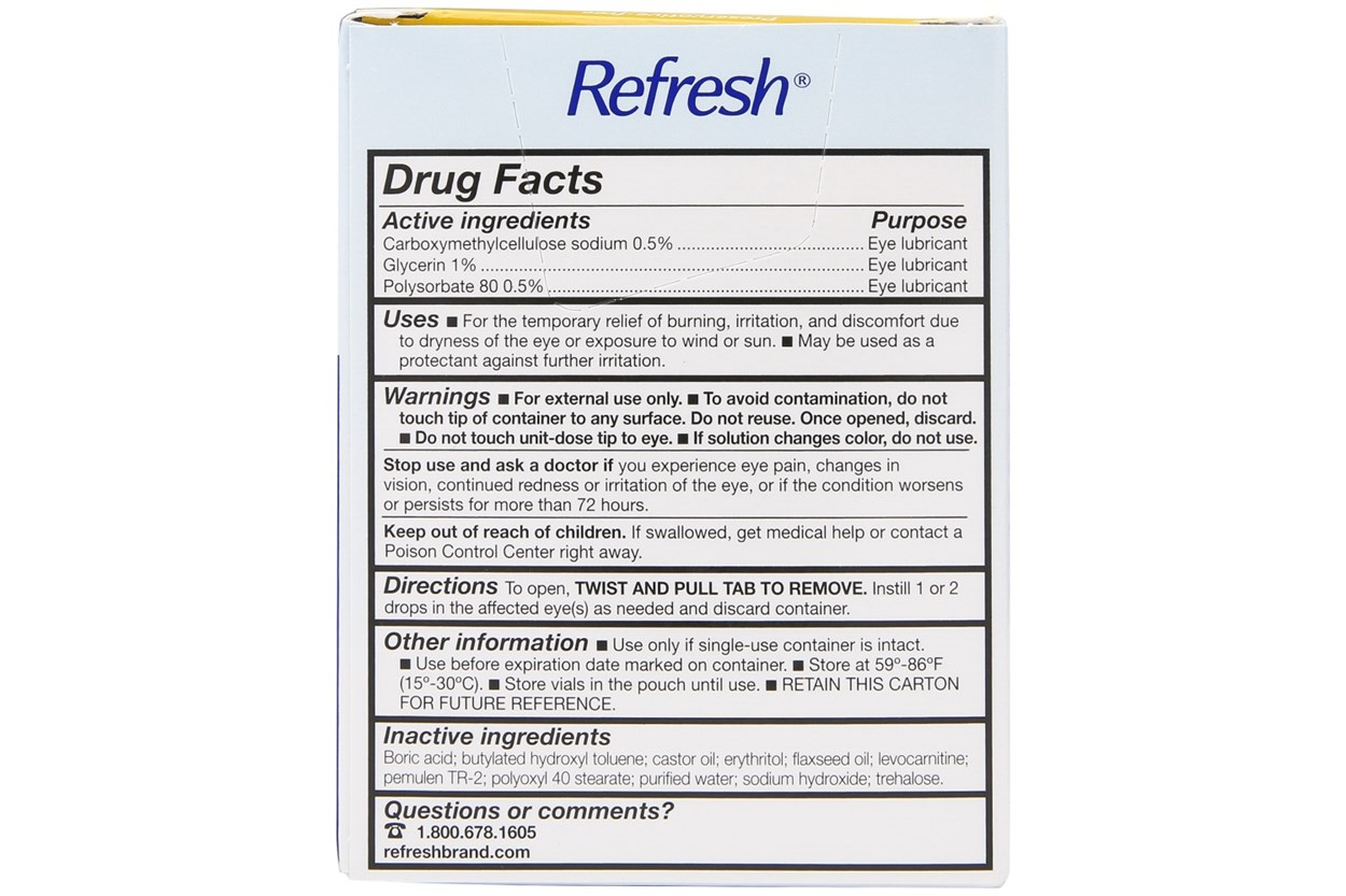 Alternate Image 1 - Refresh Optive Mega-3 Eye Drops (.4 ml) DryRedEyeTreatments