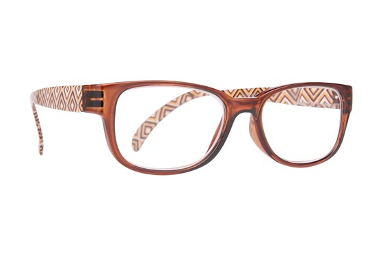 Evolutioneyes EY833Z Reading Glasses ReadingGlasses - Brown