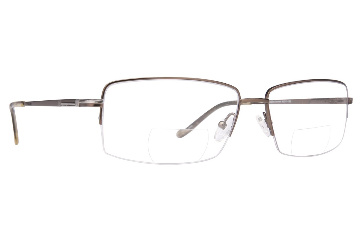 John Raymond Shank Reading Glasses  - Gray