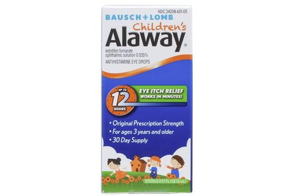 Bausch and Lomb Children's Alaway Eye Drops (0.17 fl oz) DryRedEyeTreatments