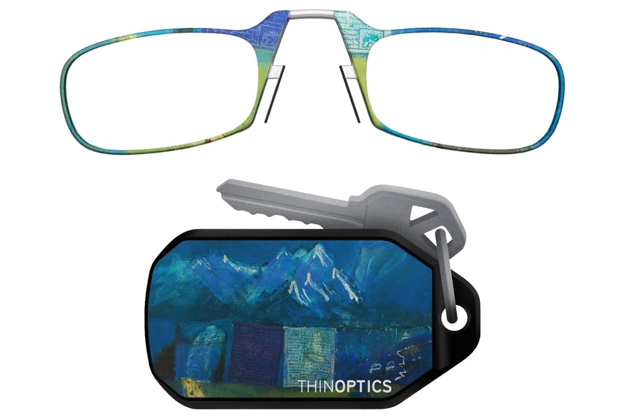 ThinOPTICS Keychain Case & Readers - Design  - Multi