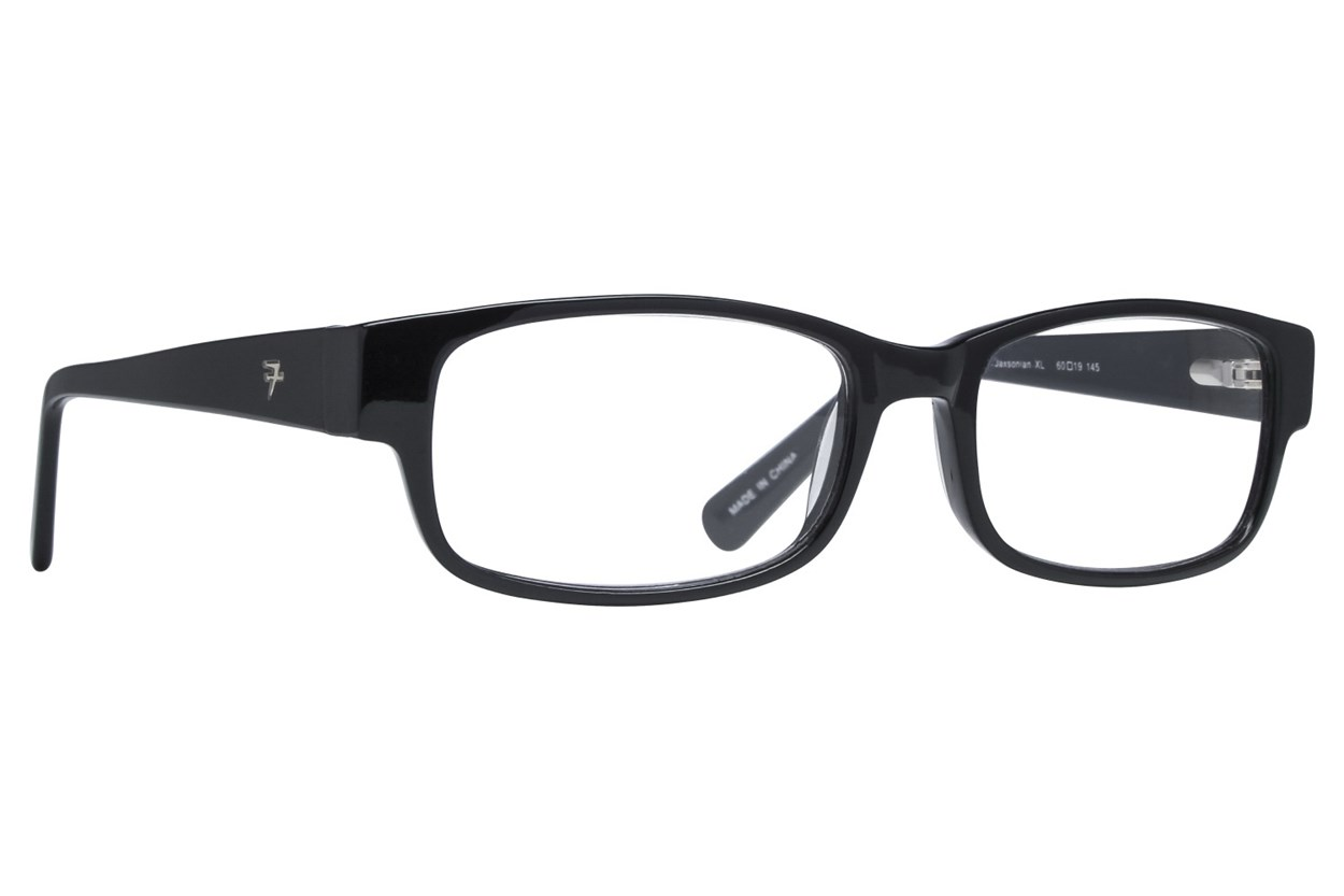Fatheadz Jaxonian Reading Glasses ReadingGlasses - Black