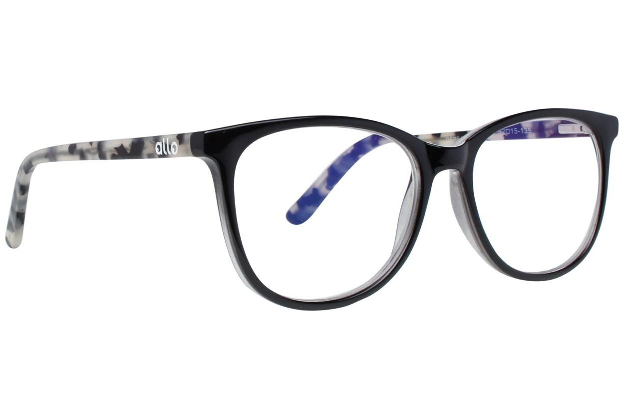 allo Qepsa Reading Glasses  - Black
