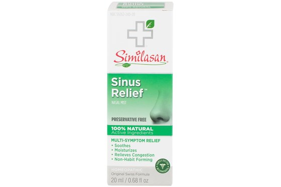 Similasan Sinus Relief Nasal Spray (.68 fl. oz.) DryRedEyeTreatments
